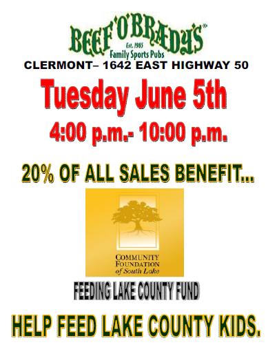 Help Feed Lake County Kids